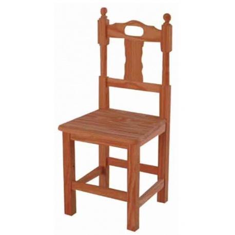 Ref 92192 silla asa economica para bares asiento madera for Sillas de madera para bar