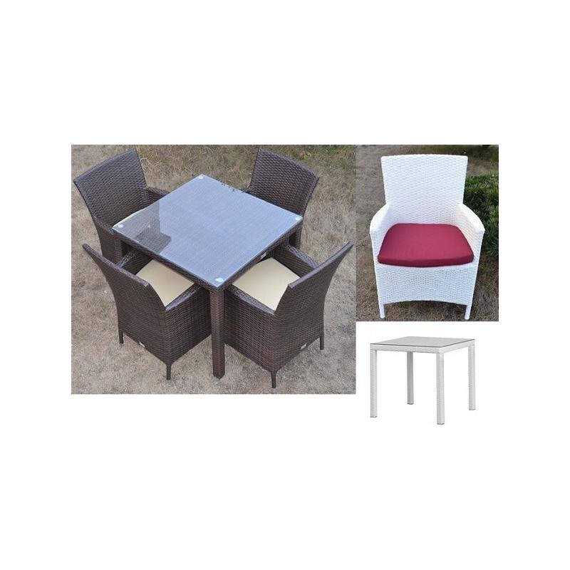 Pack 1 mesa ratan y sillas todo sillas for Todo mesas y sillas