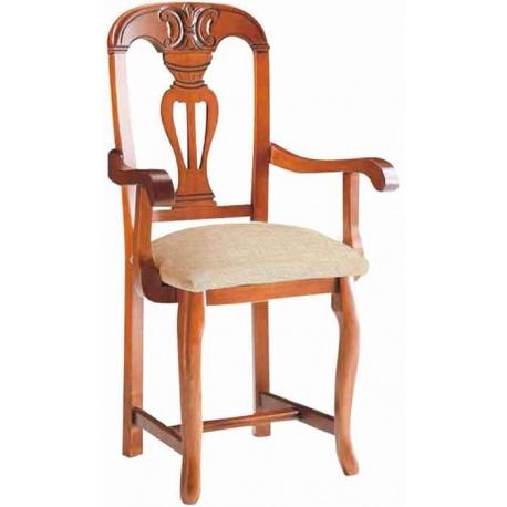 REF 92103 sillonfabricado en madera de pino opcional asiento madera
