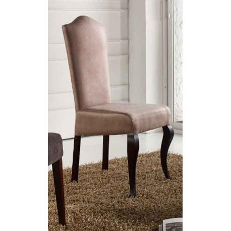 Ref 92642 silla montera haya lisa, opciones en telas y posibilidad de tapizar ignifugas, apto para restaurantes y hoteles